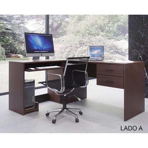 Escritorio De Oficina En L De 1,65x1,35. Puesto De Trabajo