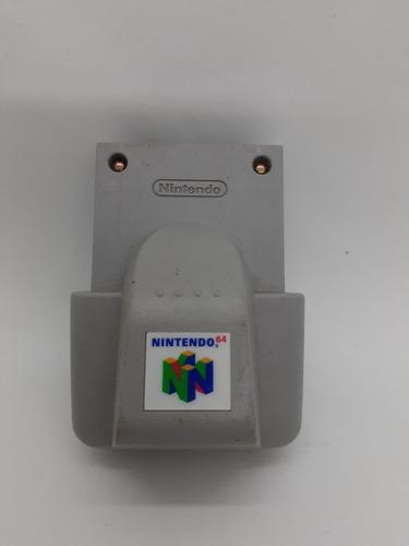 N64 Rumble Pack Nintendo 64 Acc Vibración P Joys _la Retro!