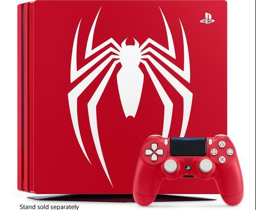 Playstation 4 Ps4 Slim Pro 1 Tb Edicion Limitada Spider Man
