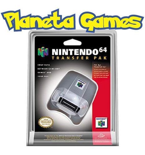 Transfer Pak Nintendo N64 Nuevo Blister Cerrado