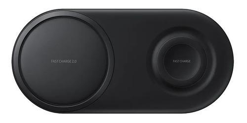 Cargador Doble Original Samsung Inalambrico Fast Charge Duo