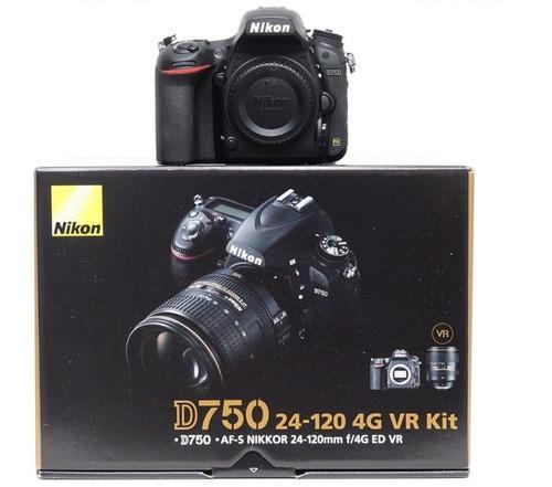 Nikon D750 Super Kit 24-120+bolso+64gb 18 Cuotas Sin Intere