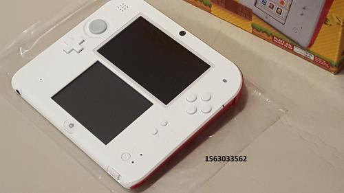Nintendo 2ds Edicion Super Mario Bros 2 Nueva,!!! C/juegos