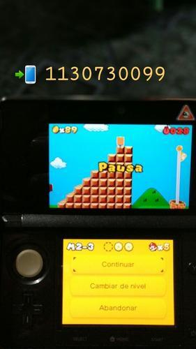 Permuto O Vendo Nintendo 3ds Con 2 Juegos 3ds Y 6ds Digital