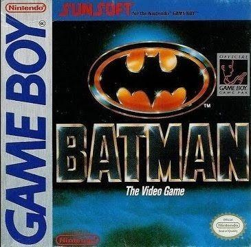 Batman: The Videogame Game Boy Nintendo Gaming Lair
