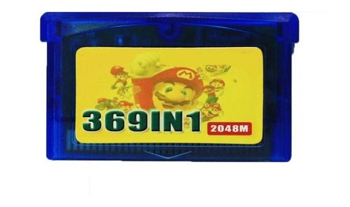 Cartucho 369 En 1 Para Gameboy Advance