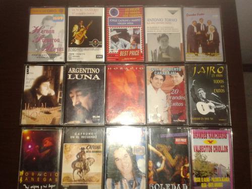 Lote De Cassettes De Folklore Argentino
