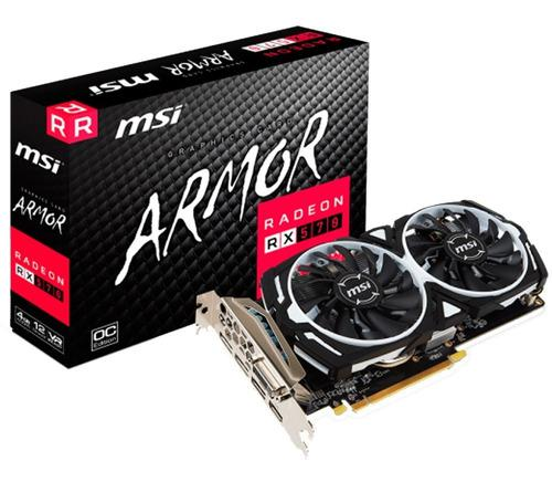 Placa De Video Amd Ati Radeon Rx 570 4gb Mexx