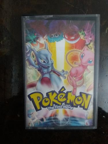 Pokemon The First Movie Cassette Original