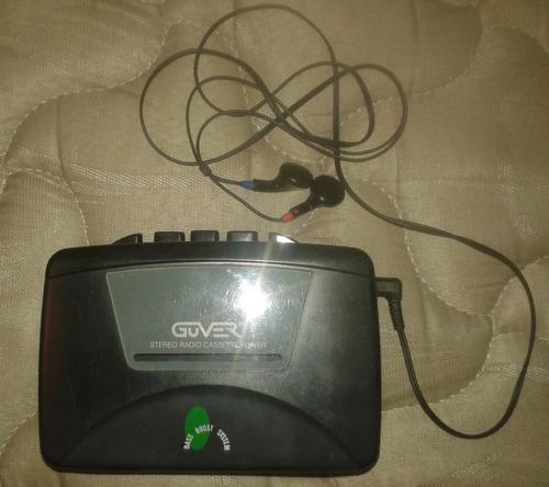 Walkman Marca Guver Cassette Y Radio Am/fm Funcionando