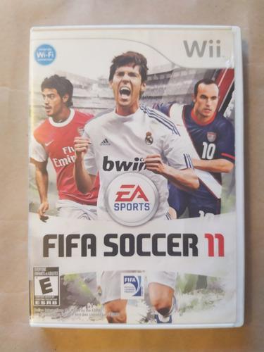 Fifa Soccer 11 Original Nintendo Wii Y Wii U