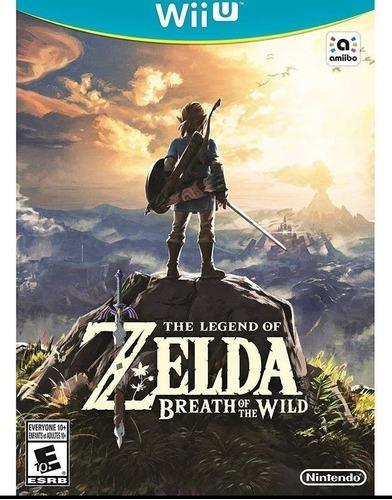The Legend Of Zelda Breath Of The Wild Nuevo Nintendo Wii U