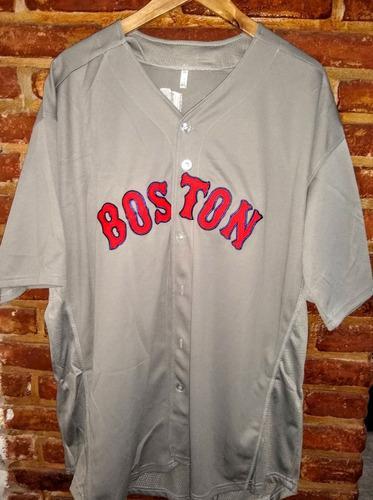 Camiseta Chaqueta De Beisbol Boston Talle 48 Nueva