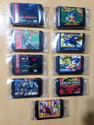 Cartuchos Juegos Sega Genesis 16 Bits