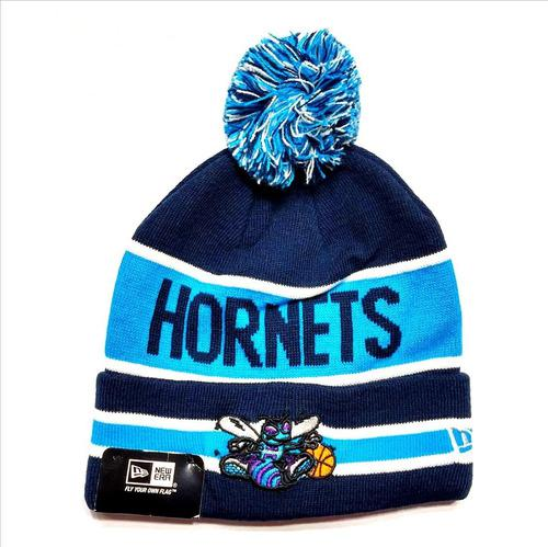 Gorro Beanie Charlotte Hornets Nba Original Usa Azul Celeste