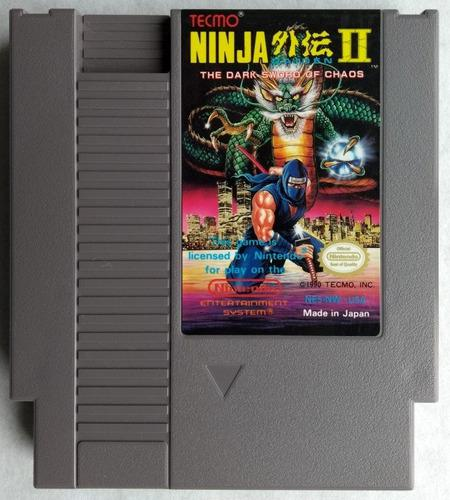 Nintendo Ninja 2 The Dark Word Of Chaos Nintendo Nes Exc Est