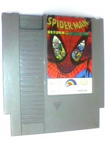 Spiderman Return Of The Sinister Six Nes Original Ojh