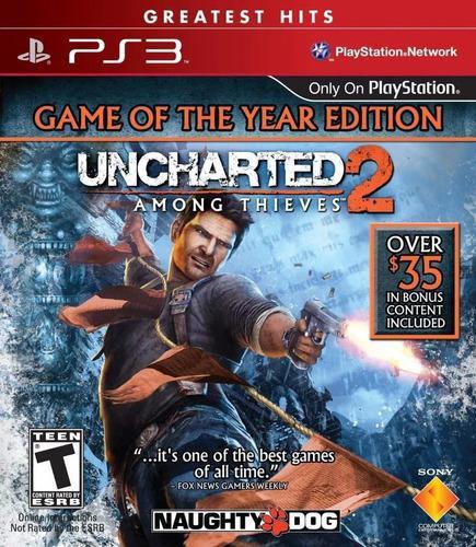 Uncharted 2 Ps3 Digital Edicion Game Of The Year || Español
