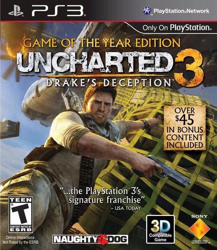 Uncharted 3 Game Of The Year Edition Ps3 Grom