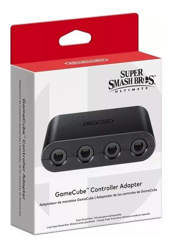 Adaptador Control Game Cube Cuotas Switch Super Smash Bros