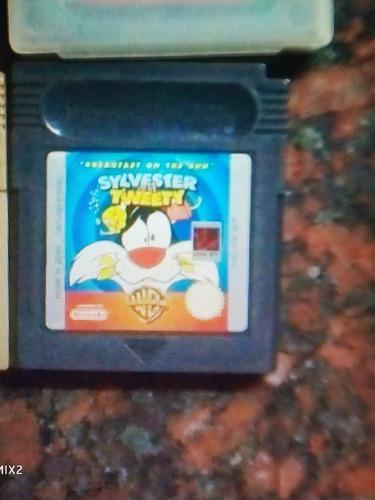 Game Boy Color Juego Sylvester Y Tweety