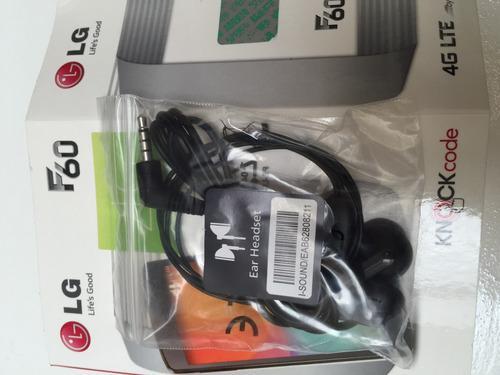 Manos Libres Lg F60 Auriculares 100 % Original Lg