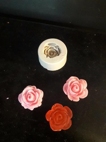 Molde Silicona Flor Mini Rococo: Jabón Yeso Resina