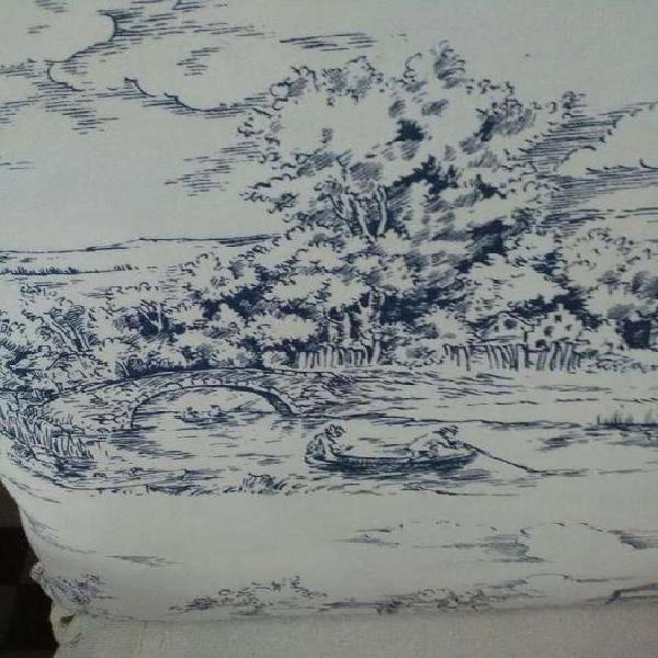 Almohadón grande de lino .52 x 52 cm.Nuevo!