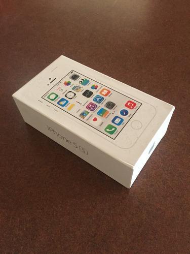 iPhone 5s Silver 16gb Usado (batería Y Cargador)