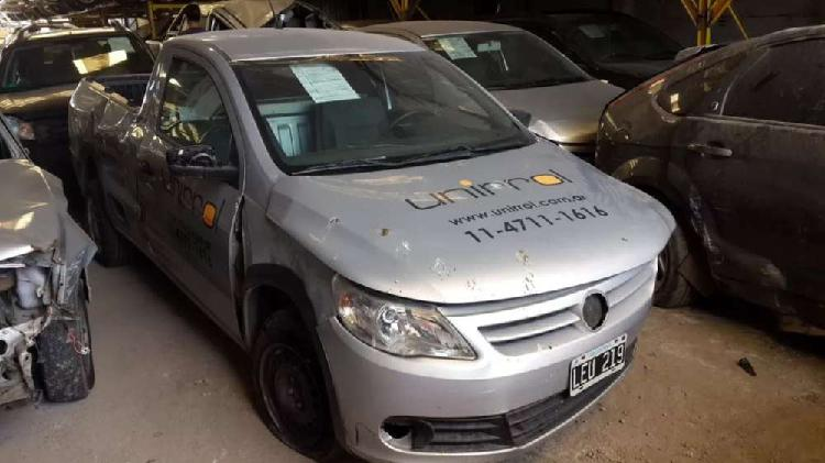 volkswagen saveiro 1.6 mod 2012 baja con alta de motor