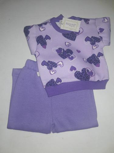 Conjunto Buzo Y Pantalón De Frisa Beba Bebe Nena Nene