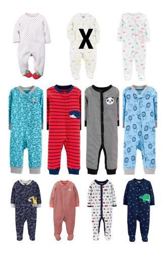 Enterito Osito Pijama Carters Talles 0 3 6 Y 9 Meses