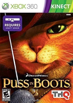 Juego Xbox 360 Kinect - Gato Con Botas (puss In Boots) -