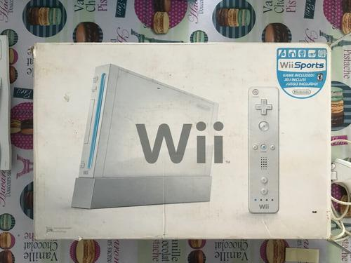 Nintendo Wii Blanca En Caja (leer)