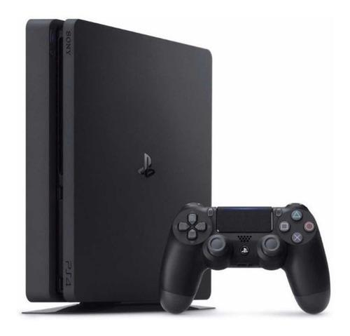 Play Station 4 Ps4 500 Gb + 1 Joystick + 1 Juego + Cables