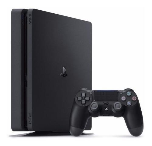 Sony Ps4 Slim 1 Tb Nueva En Caja Dualshock 1 Juego Fisico!!!