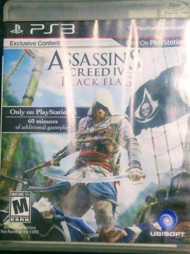 Assassins Creed Iv Black Flag Juego Fisico Para Ps3 Español
