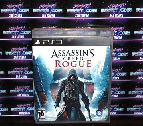 Assassins Creed Rogue Play Station 3 Ps3 Juego