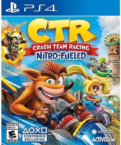 Crash Team Racing Juego Original Ps4 1ria - Envio En El Dia