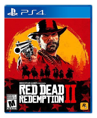 Juego Ps4 Red Dead Redemption 2 Juego Fisico Playstation 4