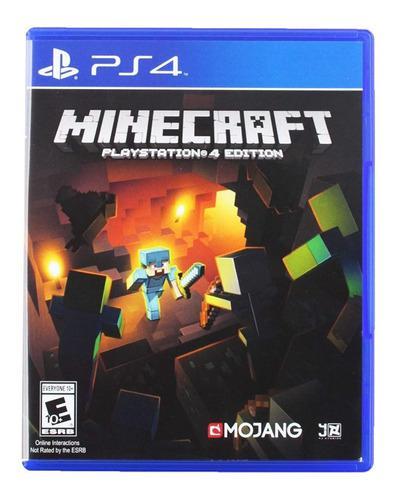 Minecraft Ps4 Juego Físico Original Nuevo Sellado Cd