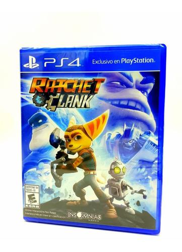 Ratchet And Clank Ps4 Juego Original Fisico Sellado Español