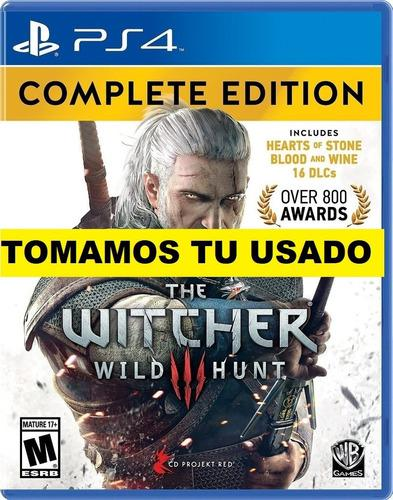The Witcher 3 Complete Edition Ps4 Juego Fisico Sellado