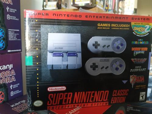 Consola Nintendo Super Nes Classic Edition Nueva En Caja