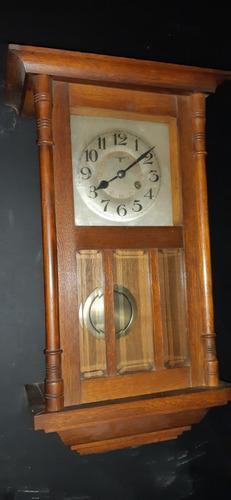 Reloj Antiguo Aleman A Pendulo Fms