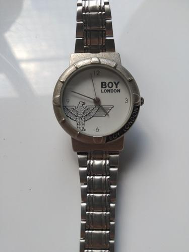 Reloj Antiguo De Pulsera Vintage Boy London De Cuero