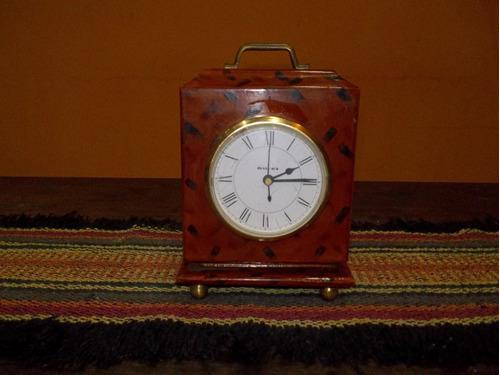 Reloj De Mesa Vintage Antiguo Funcionando