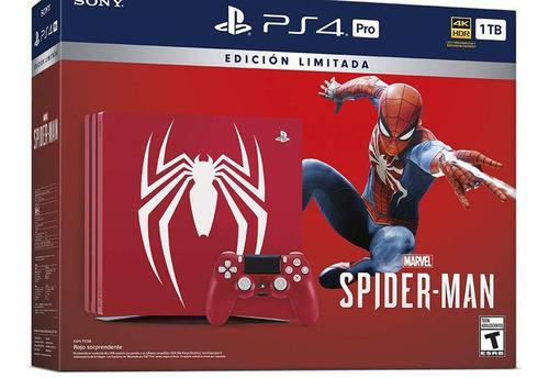 Playstation 4 Ps4 Slim 1 Tb Spiderman Canje Play 2 3