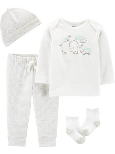 Carters Set 4 Piezas Bebé Nenas