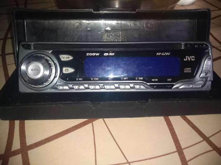 Frente de stereos JVC casi nuevo. Me robaron la carcasa